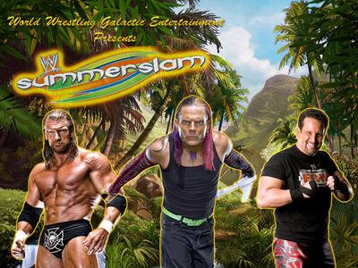 SummerSlam '09 Afiche