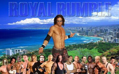 Wallpaper WWGE Royal Rumble 2010 B