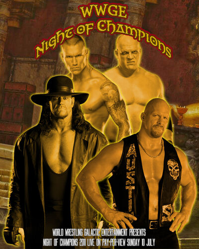 Afiche Night of Champions 2011