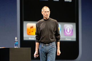 Steve Jobs talks about the iPhone