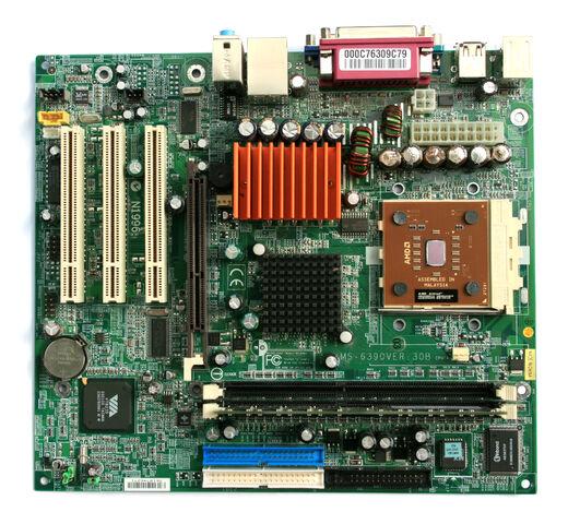 File:MicroATX Motherboard with AMD Athlon Processor 2 Digon3.jpg
