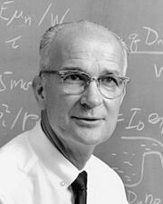 William Shockley teaching at Stanford University