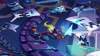 Megaman zero vs orotic guard by jeffadam-d3ef97g