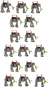 Walking Mumakil (2019) Sprites