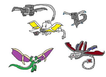 Hylian Dragons (Evolved Versions)