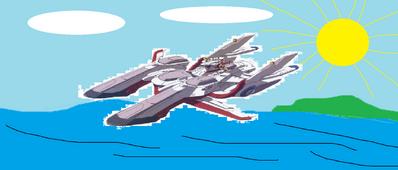 Battle Ship Gundam MK II