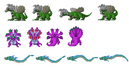 Hylian Dragons Sprites