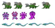 Hylian Dragons Sprites