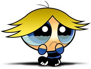 Kaboomer crying