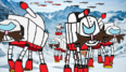 Egg Imperial Walkers on Snow (2015)