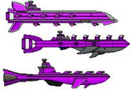 Shroob Fleet (2019) Sprites