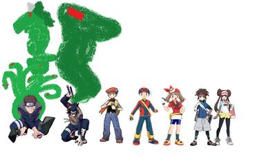 Pokemon Trainers and Jinjuriki