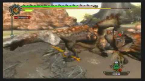 Monster Hunter Tri~ Barroth