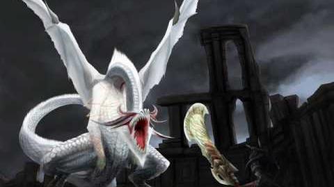 Monster Hunter Freedom Unite White Fatalis Theme