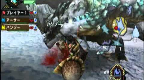 【MHP3rd】Demo Hammer VS Snow Barroth