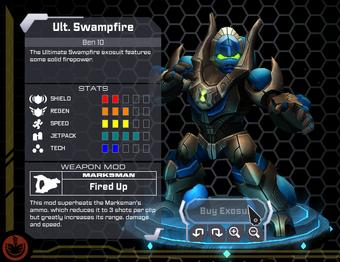 Ultimate Swampfire Exosuit
