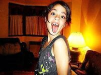 Young Tini weird pic