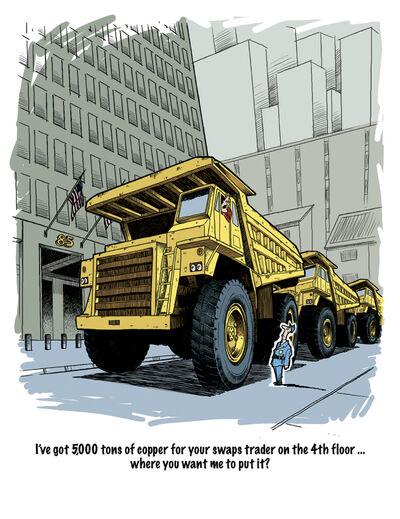 Saupload truck cartoon 02