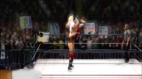 WWE 13 Brooke Hogan Vs Isis the Giant WM 3.wmv