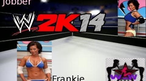 WWE 2k14 WxW Girlz Frankie