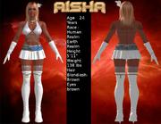 Aisha Ststat Card