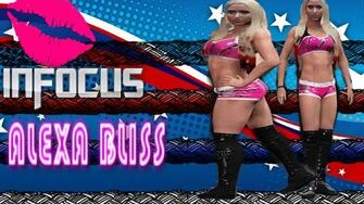 The Canadian Barbarian Infocus ALEXA BLISS
