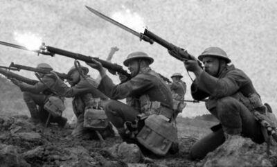 Great martion war (line up)