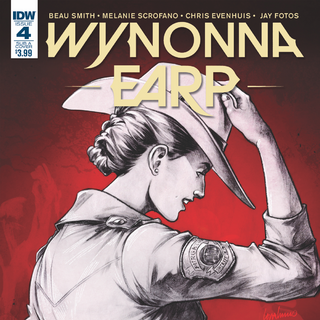 <i>Legends</i> Issue #4: <i>The Earp Sisters</i> (variant cover by Lora Innes)