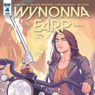 <i>Legends</i> Issue #4: <i>The Earp Sisters</i>