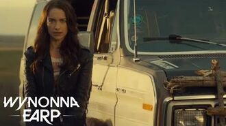 WYNONNA EARP Wynnona Backstage - 'W is for Wynonna' SYFY