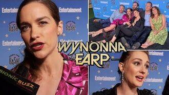 EW SDCC After Party Interview w Melanie Scrofano, Katherine Barrell & Cast of Wynonna Earp