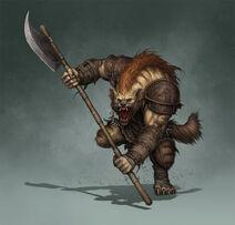 Gnoll Axeman