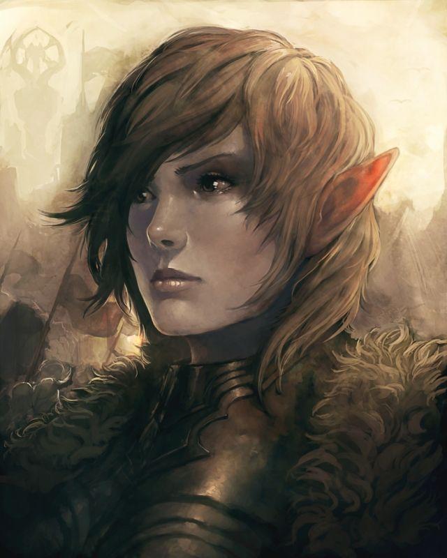 dark female elves fucking