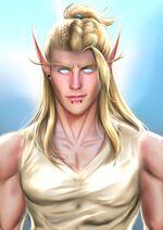 High Elf Zaennicus by Rizky