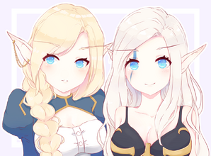 Auroryn and Cindrea