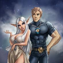 Auroryn and Zack