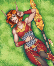 Senilina fangs by Pyra