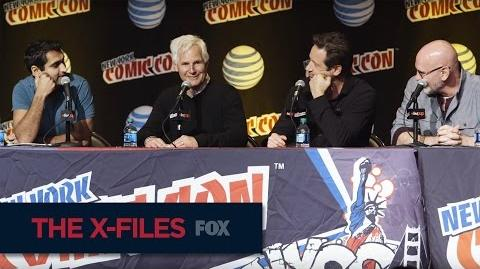 THE X-FILES New York Comic Con Mulder & Scully's Relationship FOX BROADCASTING