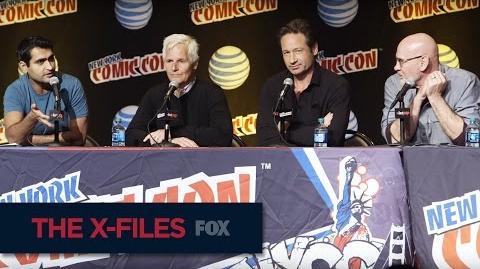 THE X-FILES New York Comic Con The Right Moment FOX BROADCASTING