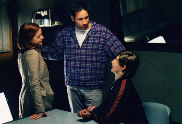 File:Chris Owens, David Duchovny and Gillian Anderson.jpg