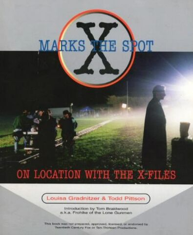 File:X Marks the Spot (On Location with The X-Files) cover.jpg