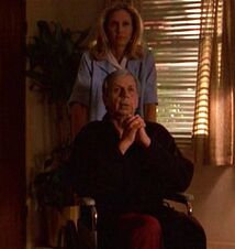 Cigarette Smoking Man in wheelchair