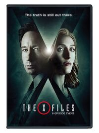 X files 10 dvd