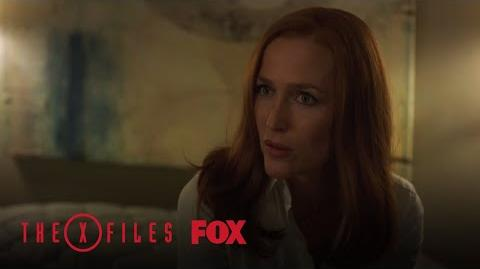 Scully & Mulder Disagree Over Ghosts Being Real Season 11 Ep. 3 THE X-FILES