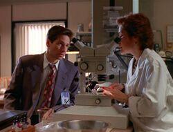 Henderson and Fox Mulder