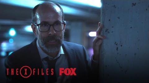 A Stranger Confronts Mulder Season 11 Ep. 4 THE X-FILES