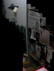 X-Files Office collage
