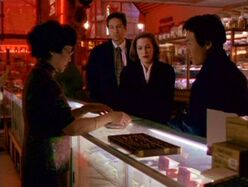 Wu is consulted by Glen Chao, Fox Mulder and Dana Scully