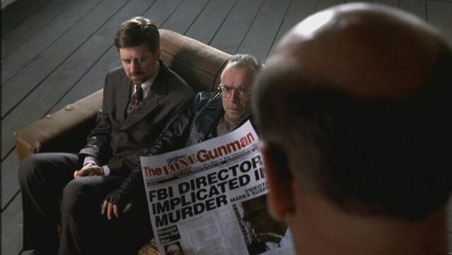 File:Skinner shows the article the Lone Gunmen were writing.jpg