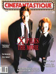 Cinefantastique cover June 1998